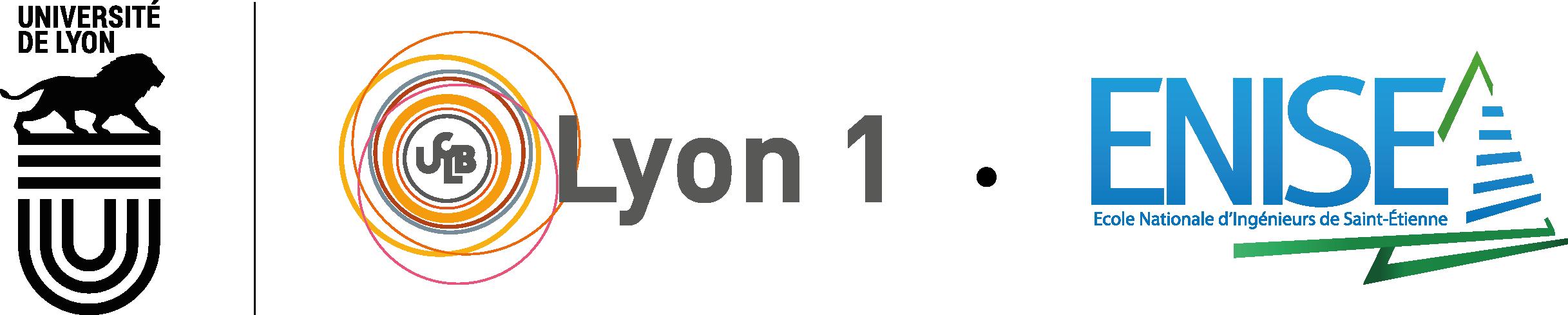 Université Claude Bernard Lyon 1 + Ecole Nationale d'Ingénieurs de Saint-Etienne (ENISE)
